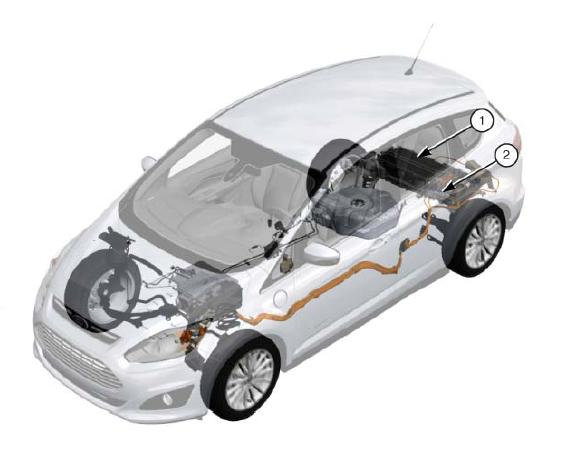 2013 ford hybrid and electric vehicles hv batteries and disconnects boron extrication. Black Bedroom Furniture Sets. Home Design Ideas