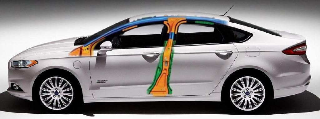 2013 Ford Fusion Body Structure (Hydro-formed)