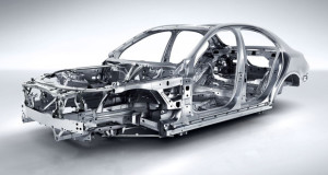 2016 Mercedes-Benz C450 Sedan Body Structure